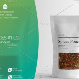 CreativeMarket – Spices LG Mock-Up #1 [V2.0] 4242530 Free Download